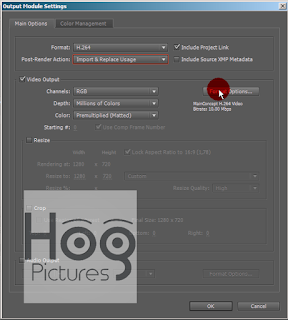 Cara Render After Effects | Best Render Settings - Hog Pictures