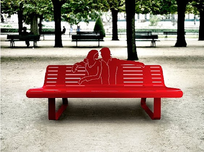 whimsical benches