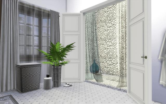 décoration salle de bain sims 4