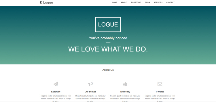 Best free blogger templates 2018 premium themes logue one page blogger templates 2017 cheaphphosting Images