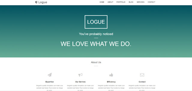 Logue one page blogger templates 2017