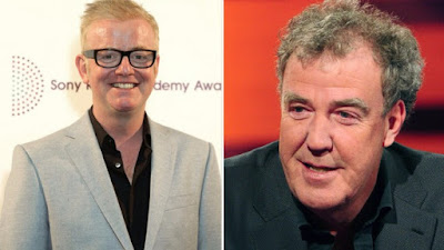 Chris Evans and Jeremy Clarkson (top gear tv show)