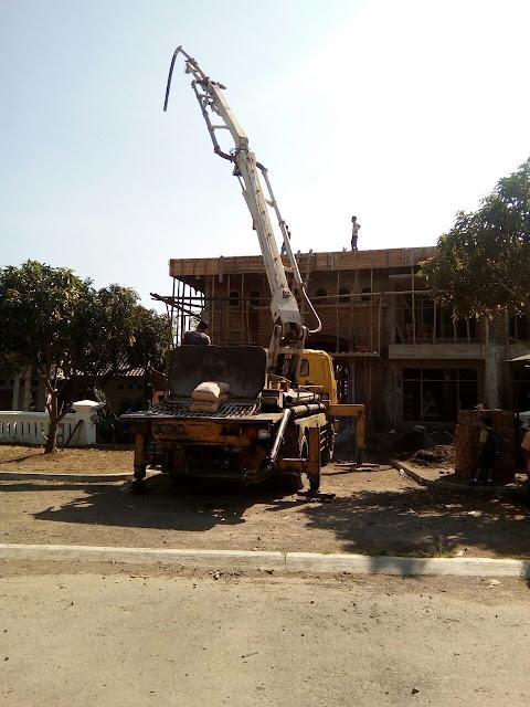 Pompa beton Readymix
