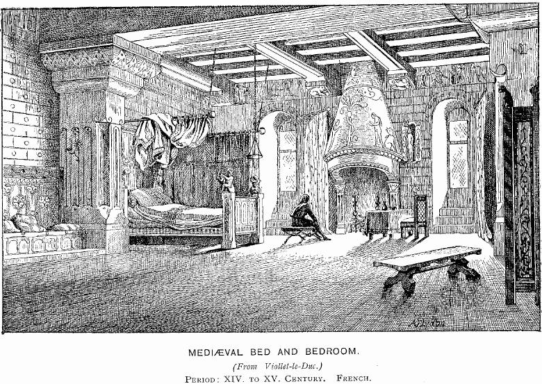 Castles to the Sky!: What were rooms like inside the castle?