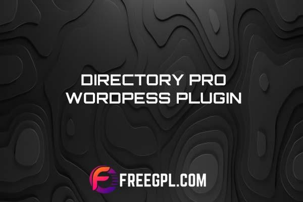 Directory Pro WordPress Directory Listing Plugin