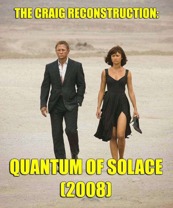 Quantum of Solace James Bond review HaphazardStuff