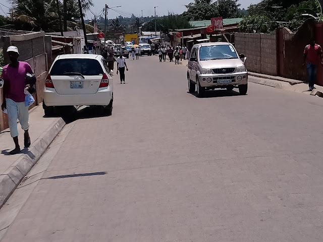 Estacionamento, um calcanhar de Aquiles no centro da cidade de Maputo