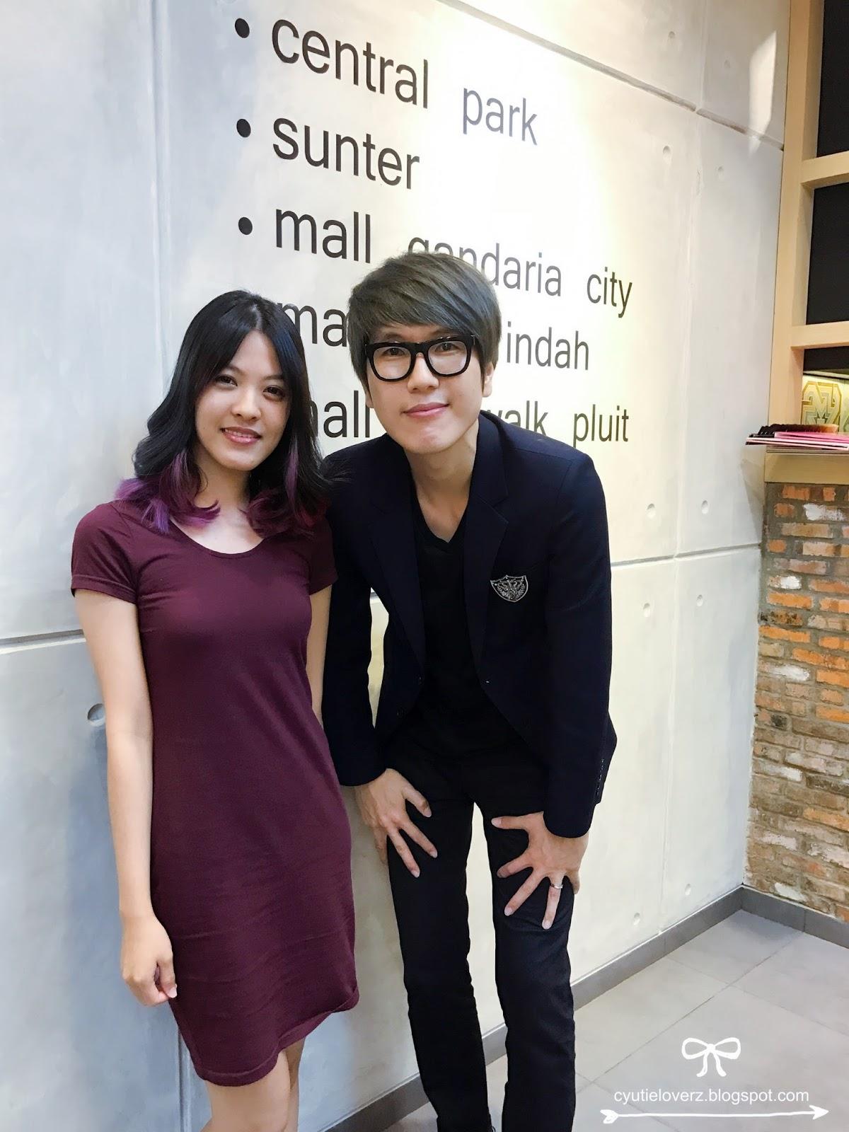 Ando And Yun Korean Salon Sunter Hair Cutting Styling Cyutieloverz Blog