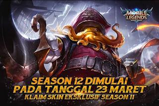 Reset Season 11 Mobile Legends