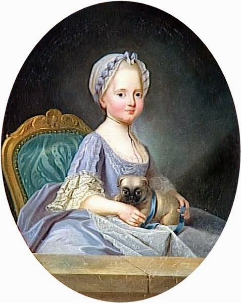 Élisabeth of France by Joseph Ducreux, 1768