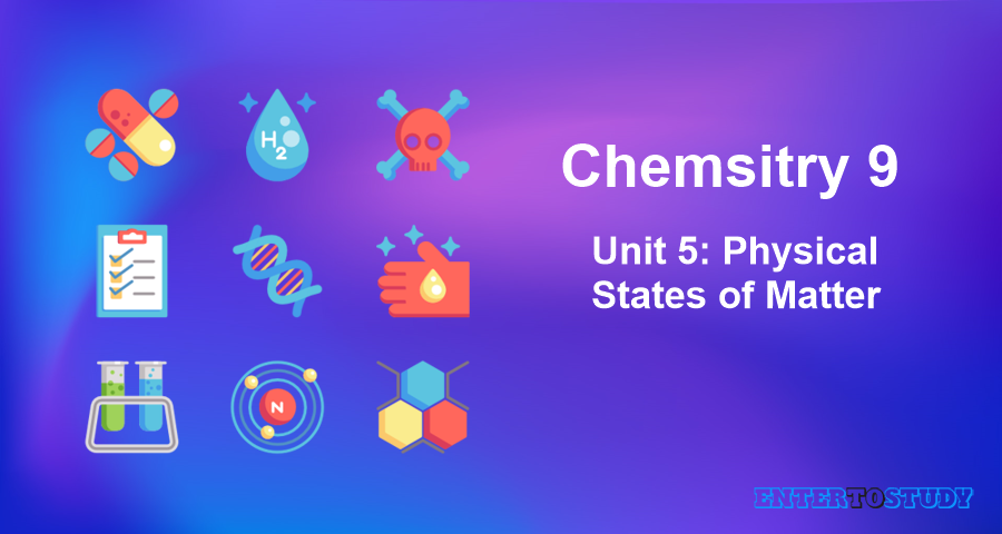 KIPS 9th Class Chemistry Notes Unit 5: Physical States of Matter