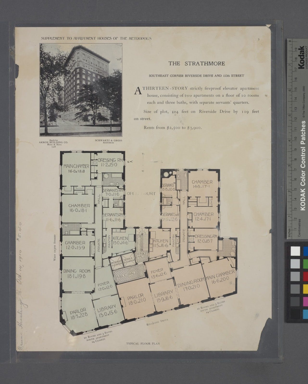 Propnomicon Vintage Apartment Floorplans