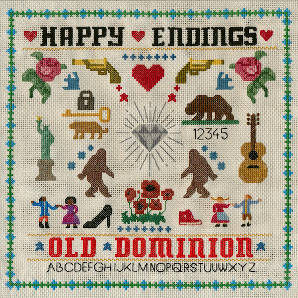 Old Dominion - Happy Endings Cover