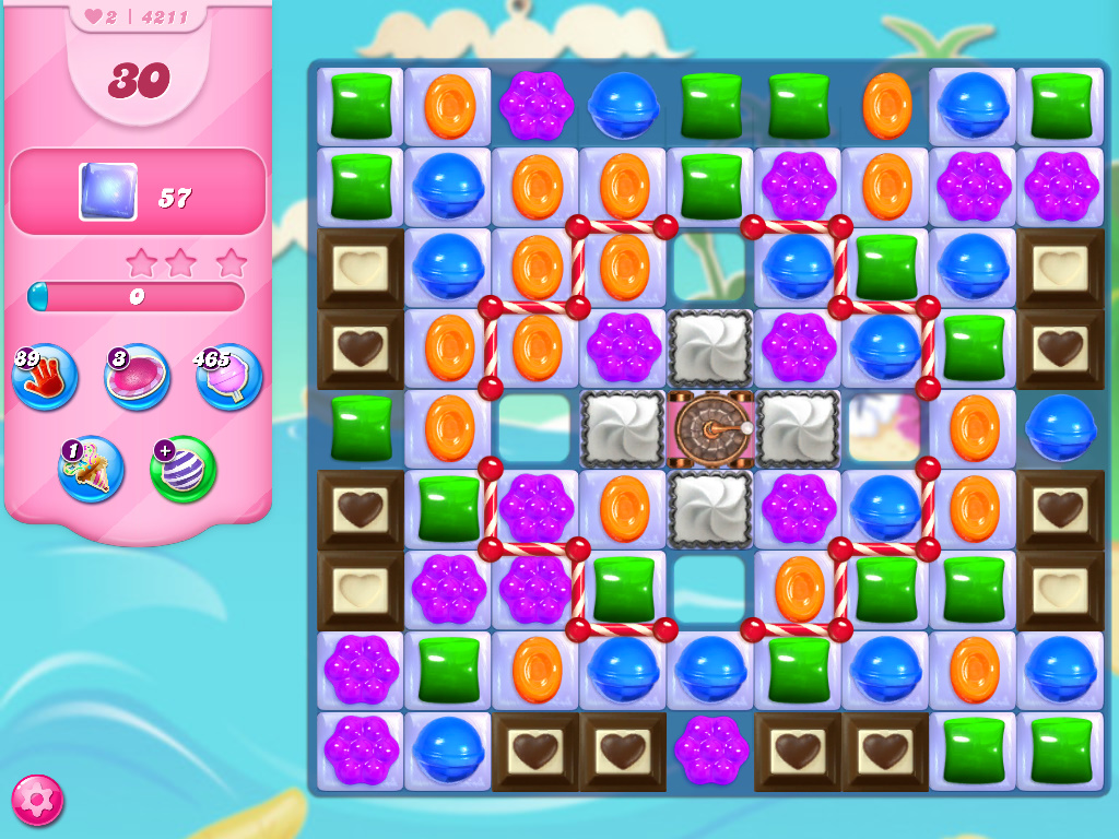 Candy Crush Saga level 4211