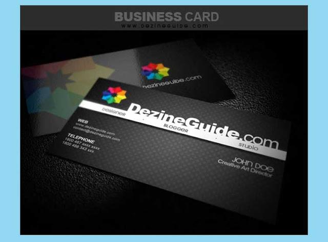 tarjeta de presentación creativa