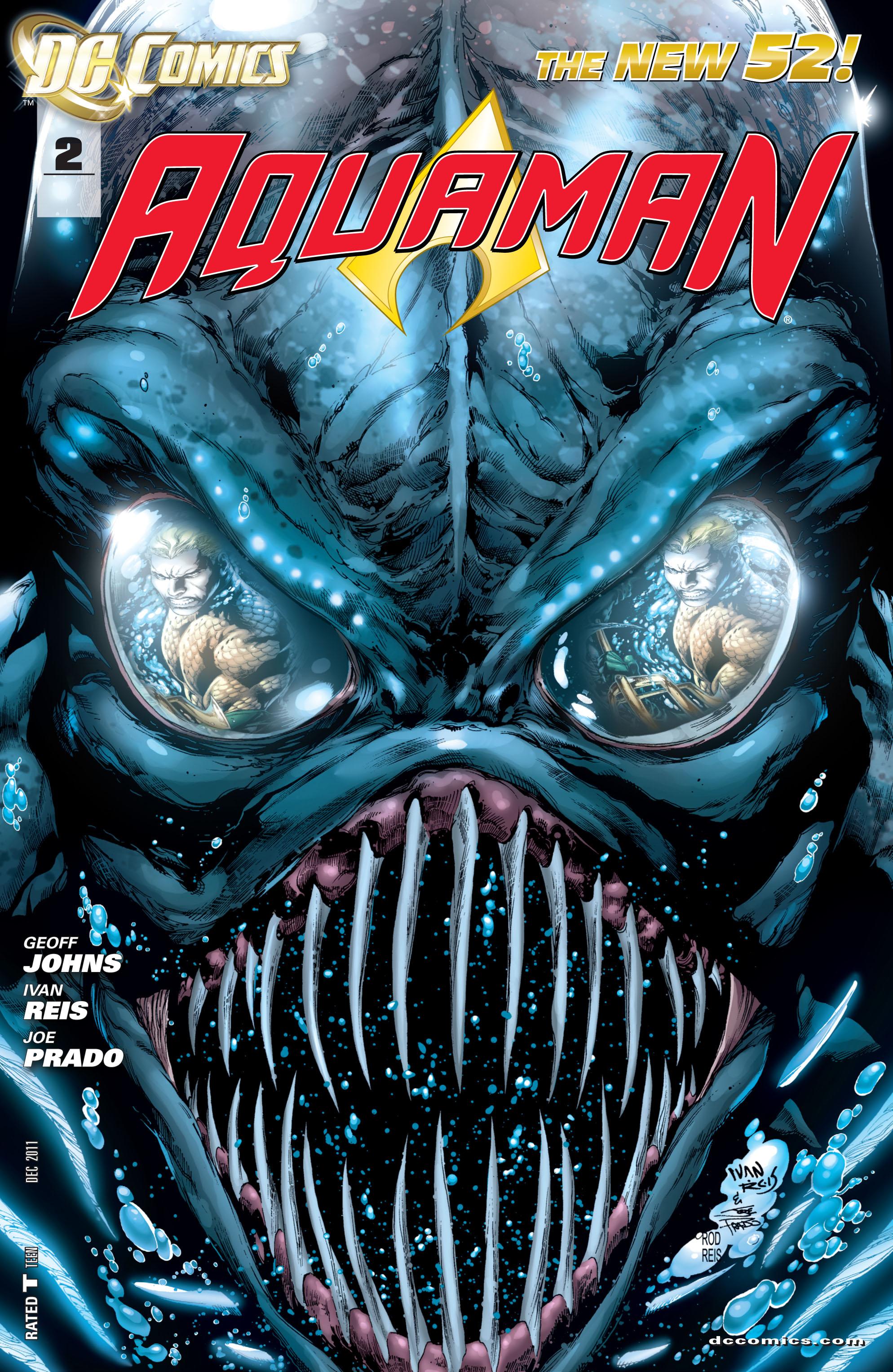 Read online Aquaman (2011) comic -  Issue #2 - 1