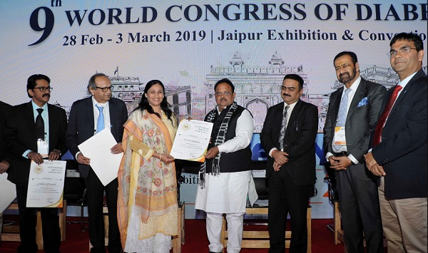 jaipur, rajasthan. health minister, dr. raghu sharma, conference on Diabetes, JECC Jaipur, Jaipur News, Rajasthan News