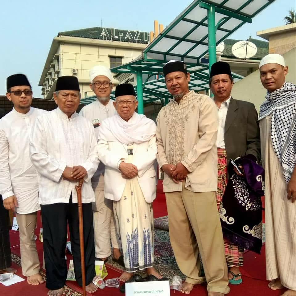 Khatib Shalat Idul Fitri, KH Ma'ruf Amin: Hari Ini Kemungkaran Masih Terjadi