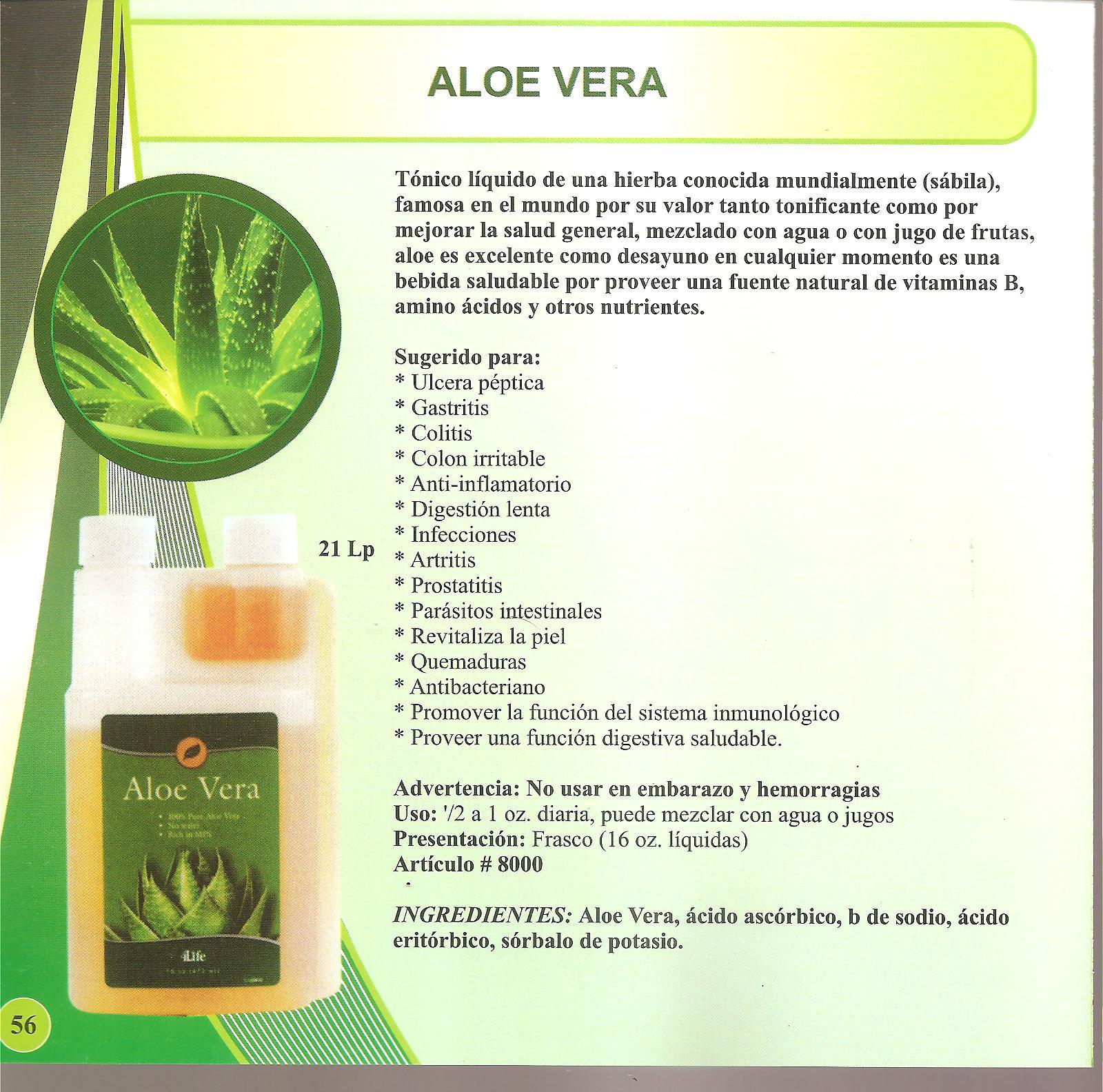 Aloe vera prosztatitis