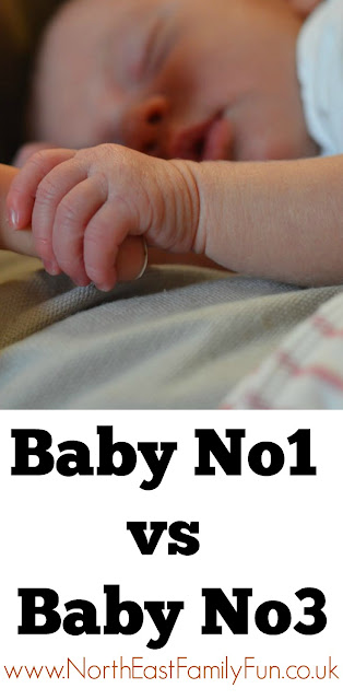 How my parenting style has changed from Baby No1 to Baby No3.