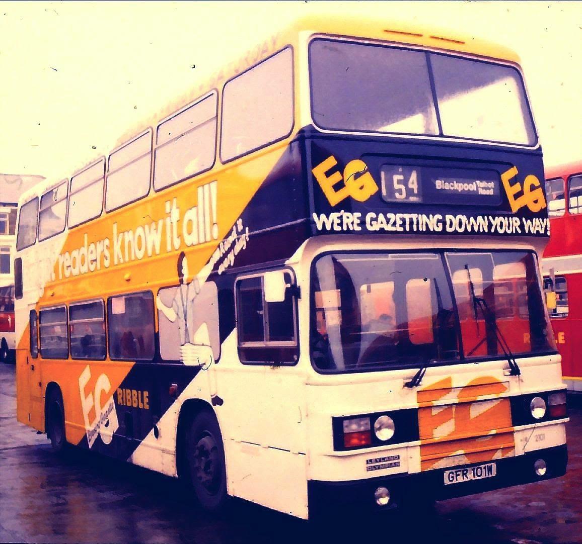 Fylde Bus Blog Ribble On The Fylde Part 2 Preston To