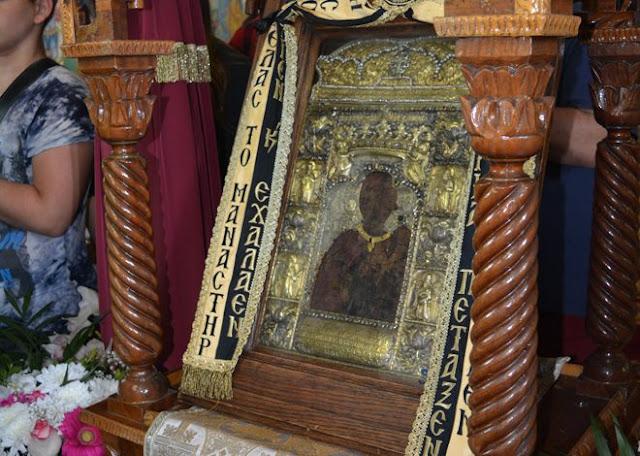 Η θαυματουργή εικόνα της Παναγίας Σουμελά έφτασε στους Τοξότες (Φωτο - Video)