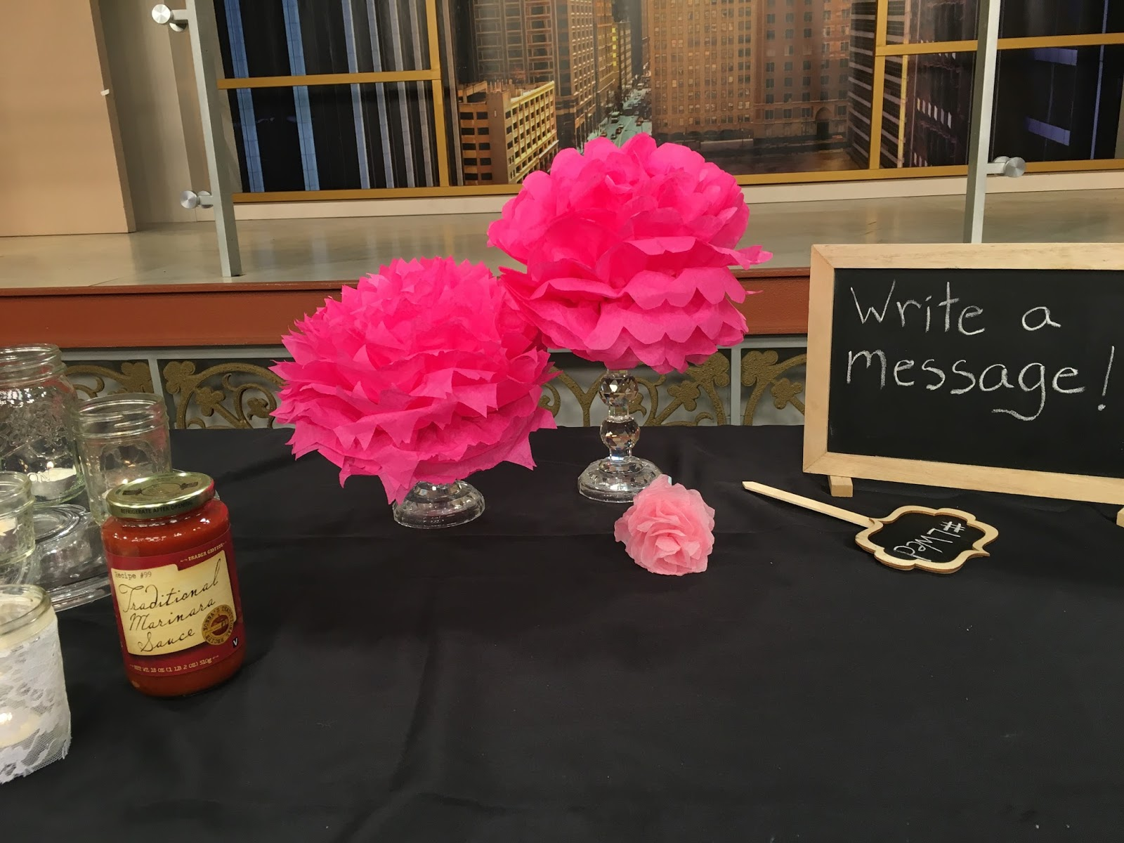 How to Save Money on Your Wedding with Windy City LIve: Make your own paper flowers | all dressed up with nothing to drink...