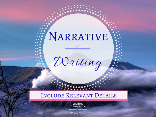 Narrative Writing: Include Relevant Details
