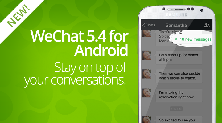 WeChat 5.4 for Android