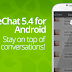 New WeChat 5.4 for Android launched!