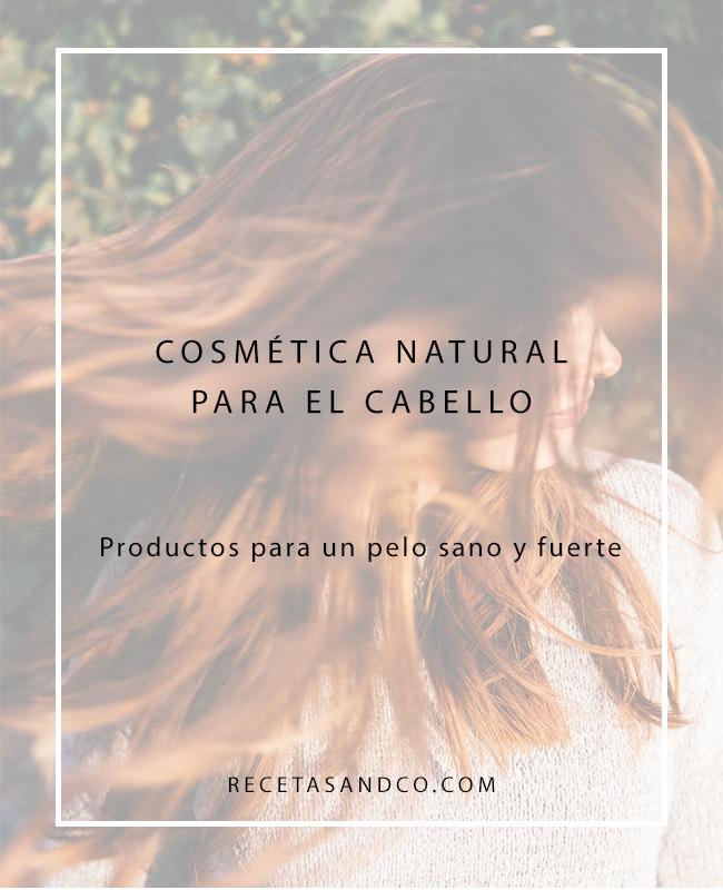 Cosmética Natural Cabello