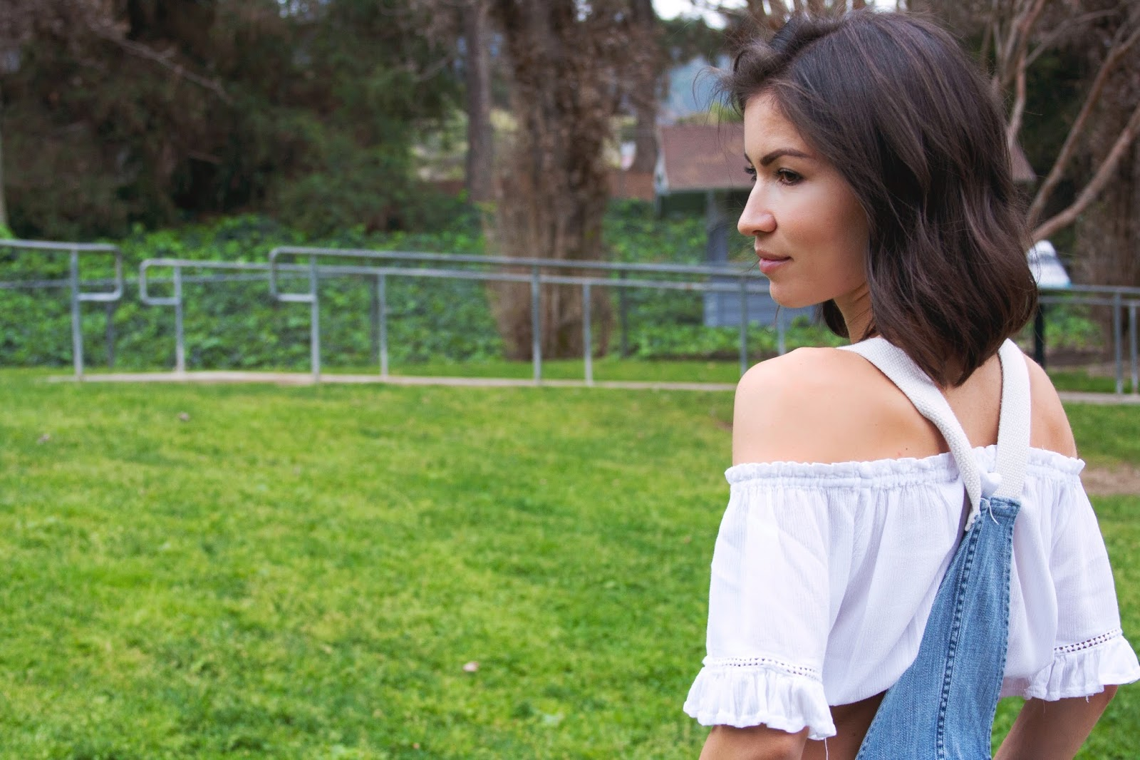 off the shoulder tops are so romantic!