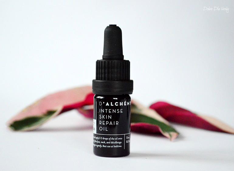 d'Alchemy naturalny Intensywnie regenerujący olejek do twarzy