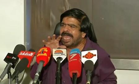 T Rajendar questions AIADMK over Jayalalithaa's death