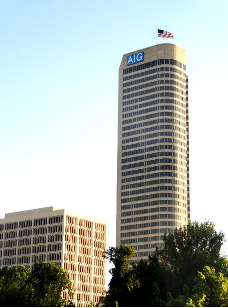 Houston In Pics American International Tower Before An