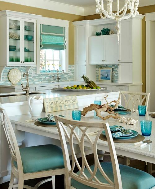 Beach Themed Kitchen