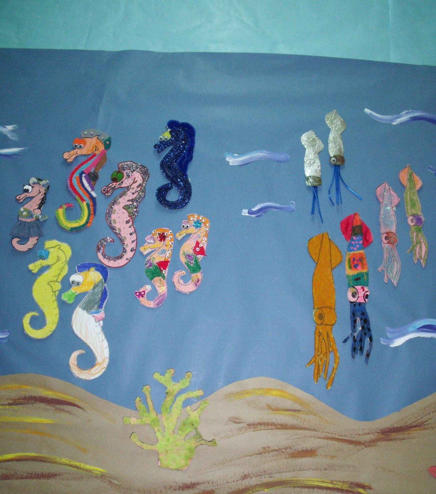 Valdellera Infantil Mural Colectivo El Mar