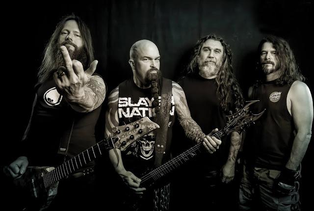 Banda de americana de heavy metal Slayer a Rádio JR3D (Foto:Divulgação)