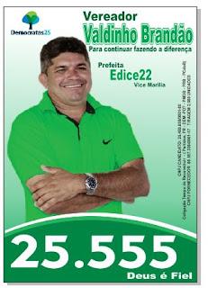 Eleições 2016 - Valdinho Brandão