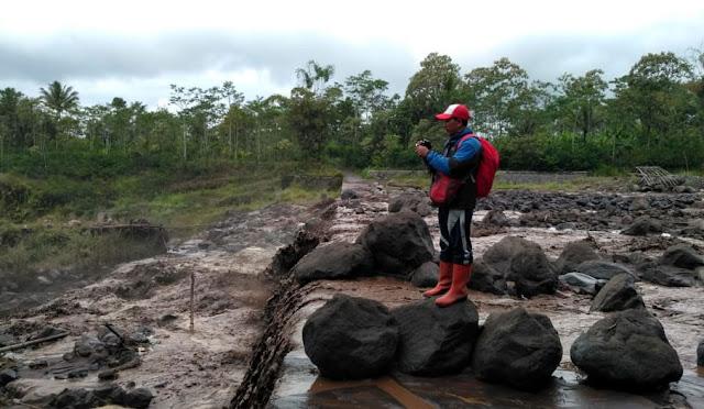 Lahar dingin di Daerah Aliran Semeru