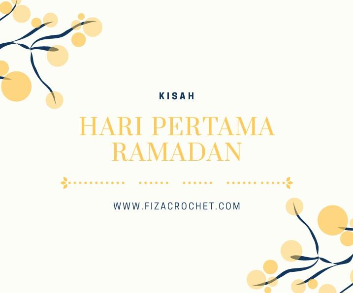 Hari pertama ramadan untuk tahun 2018