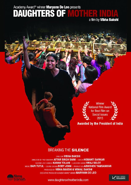 Poster Of Daughters Of Mother India 2015 720p Hindi HDRip Full Movie Download