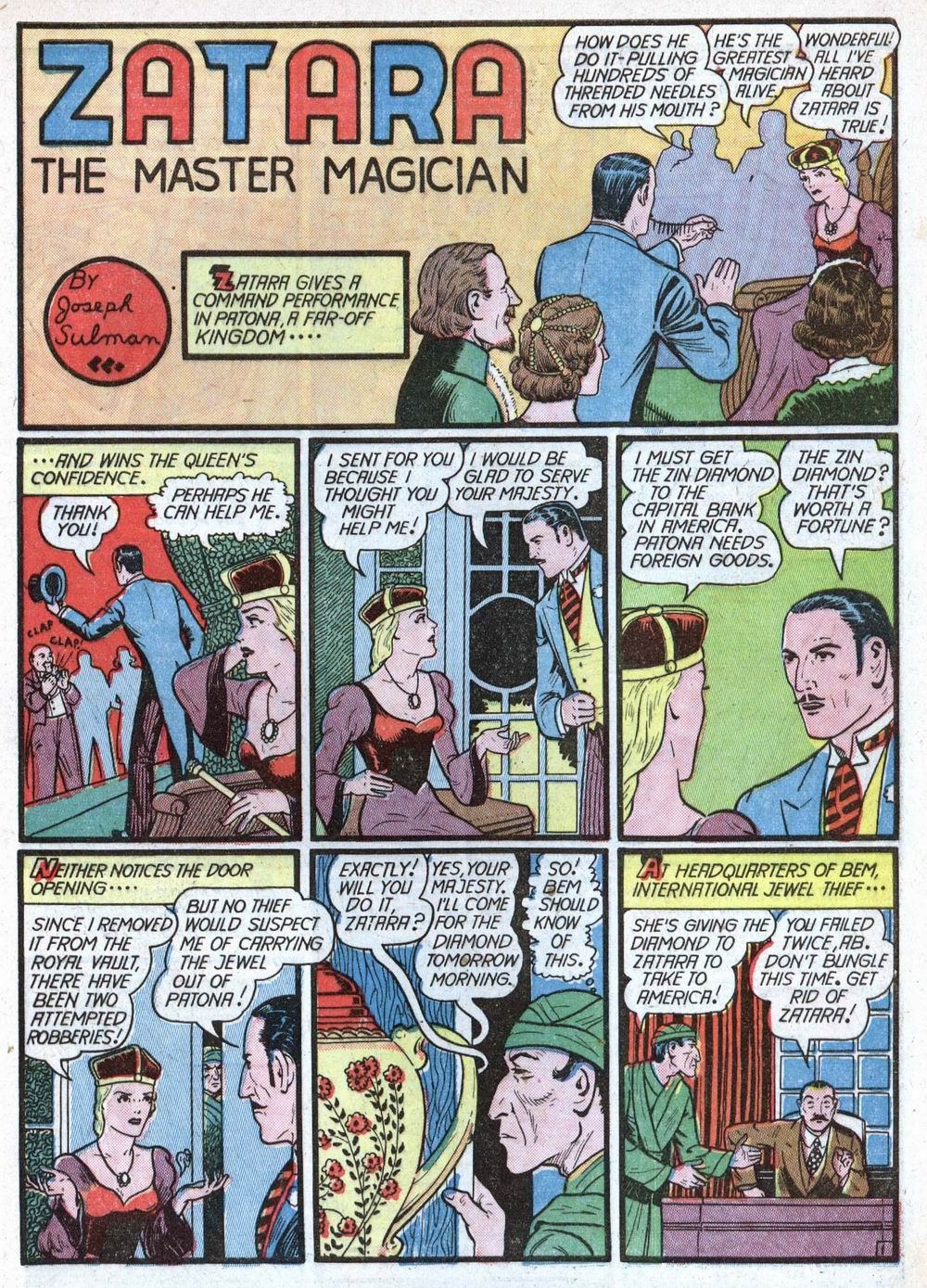 Read online Action Comics (1938) comic -  Issue #39 - 57