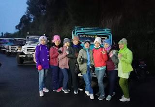 Pengalaman menegangkan naik jeep di Gunung Bromo