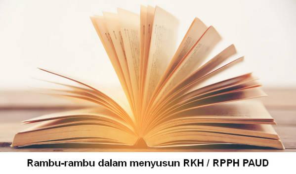 Rambu-rambu dalam menyusun RKH / RPPH PAUD