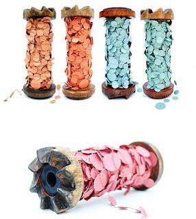 serpentina feita de confete