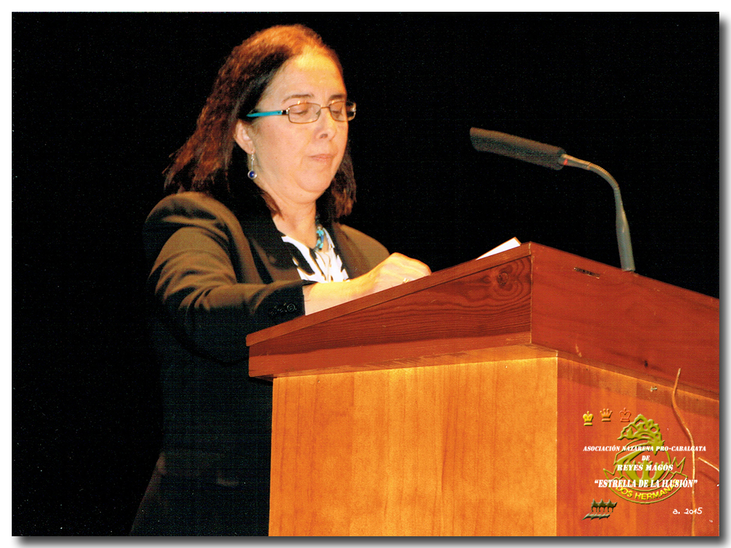 María del Carmen Ayala Fernández-Santacruz, Pregonera año 2015