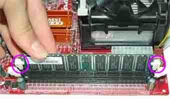 memasang RAM