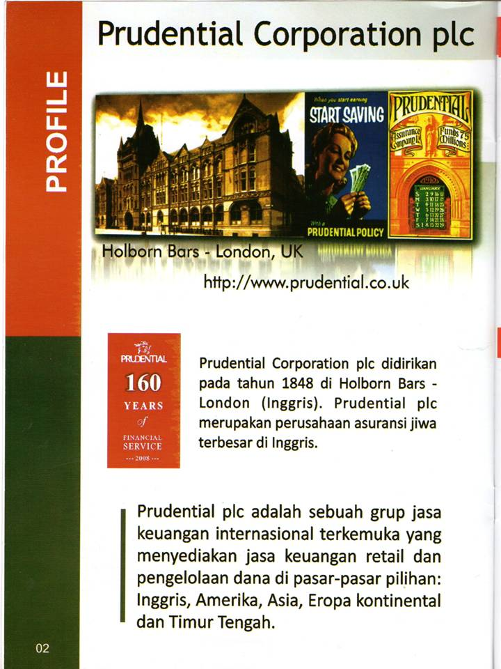 Info Asuransi Indonesia Company Profile Prudential Indonesia