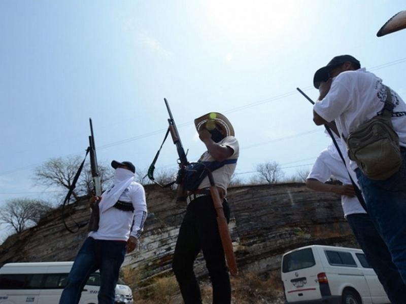 """Sicarios integrantes de """"Los Ardillos"""" atacan autodefensas de Chilpancingo, Guerrero."""
